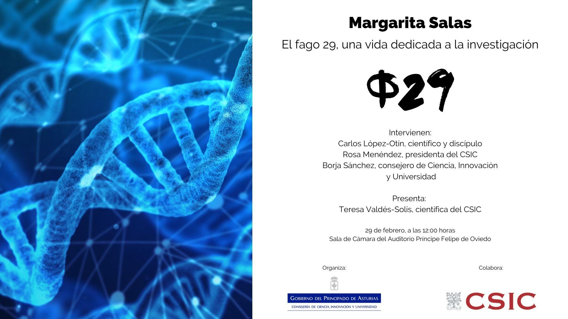 Acto Margarita Salas