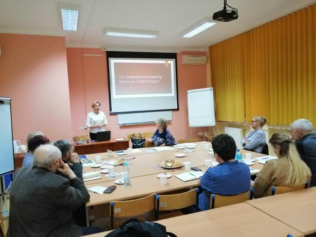 Encuentro de difusión del Proyecto en Polonia Diciembre 2019