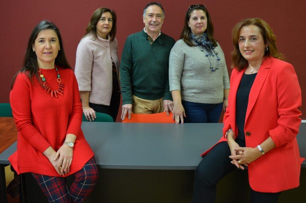 Miembros de la Universidad de Oviedo participantes en el proyecto Erasmus+ aei