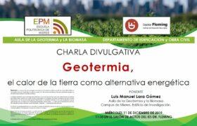 Charla Geotermia