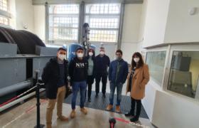 Visita alumnos Máster Ingeniería de Minas