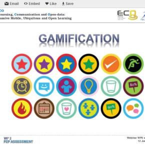 Presentación: P2P Assessment y Gamificación en los MOOC ECO
