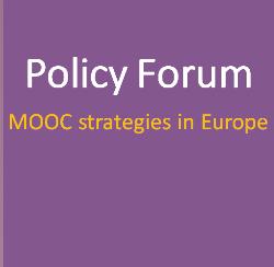 Participación en el Foro de Política sobre MOOCs europeos