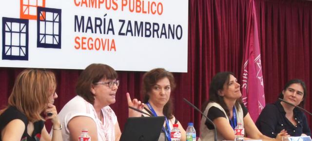 Educación Mediática desde un Enfoque Feminista - Mesa Redonda en el III Congreso de Educación Mediática y Competencia Digital