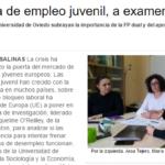 """La política de empleo juvenil, a examen"" (Entrevista equipo STYLE)"