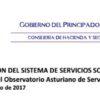 """Jornada """"La información del sistema de Servicios Sociales: Presentación del Observatorio Asturiano de Servicios Sociales"""""""
