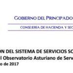 Jornada «La información del sistema de Servicios Sociales: Presentación del Observatorio Asturiano de Servicios Sociales»