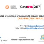 Curso SPSS: Manejo y tratamiento de datos