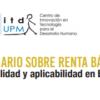 Seminario sobre la renta básica. Deseabilidad y aplicabilidad en España