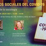 """Conferencia """"Impacto del COVID en las formas de vida: Análisis y retos de futuro"""""""